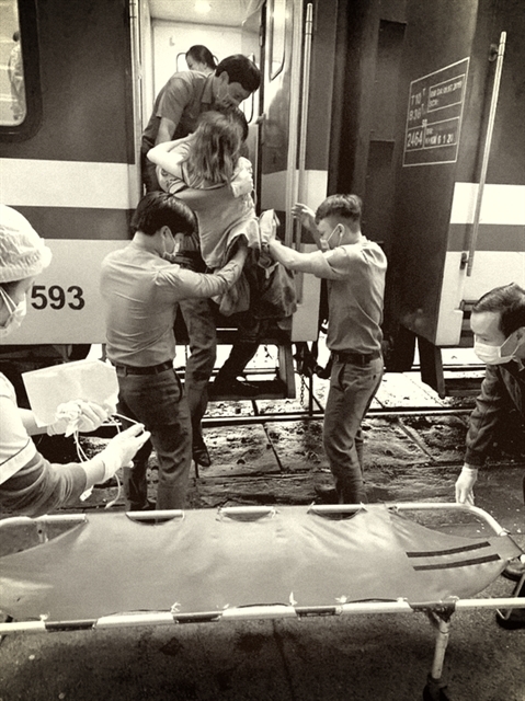 Train journey brings an unexpected passenger