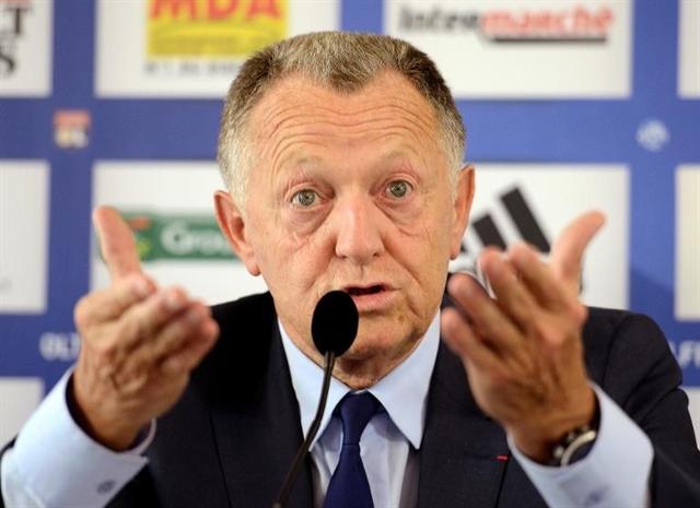 Lyon president Aulas not sure Ligue 1 season is over