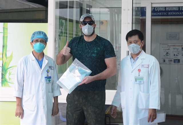American COVID-19 patientreleasedfrom Đà Nẵng Hospital