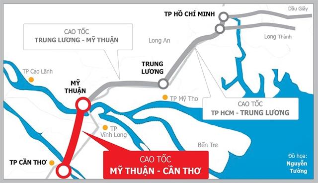 Vĩnh Long speeds up site clearance of Mỹ Thuận – Cần Thơ Expressway