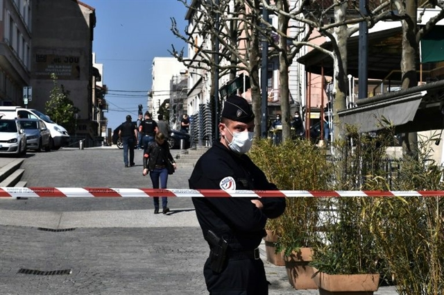 France launches terror probe after two killed in stabbing spree