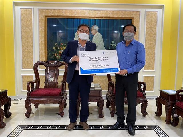 Shinhan Finance donates 51207 to Việt Nam COVID-19 fight