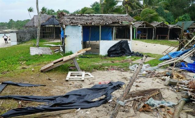 Monster Pacific cyclone Harold batters Fiji