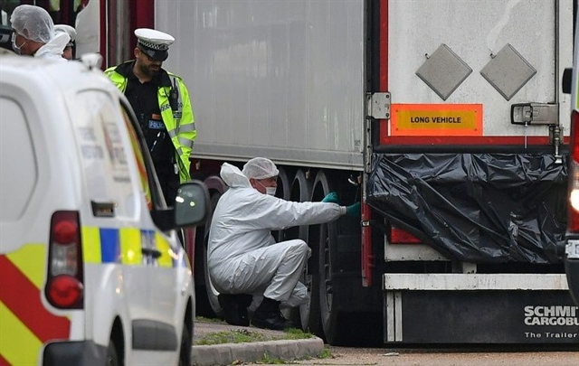UK driver pleads guilty to manslaughter of 39 found dead in truck