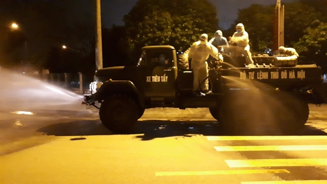 Police quarantined after contact with 243rd COVID-19 patient