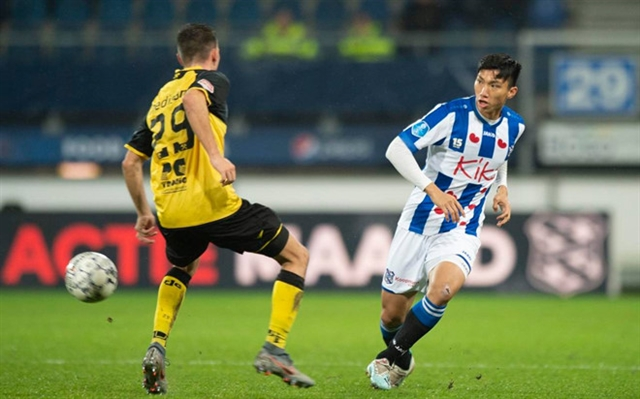 Defender Hậus Heerenveen contract to be discussed