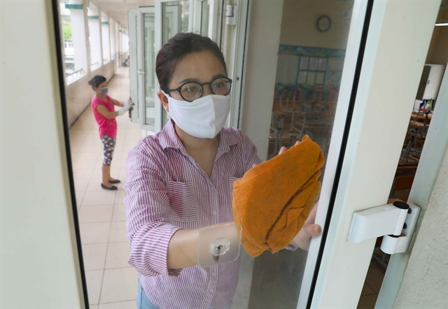 Primary schools prepare for students return after pandemic