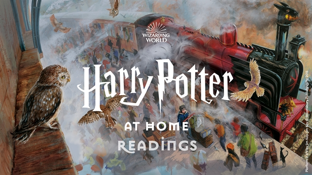 Harry Potter at Home read by stars from friends of the Wizarding World and beyond