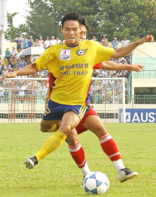 Footballer turns rice farmer to provide for family in the long-term
