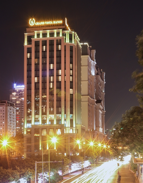 Grand Vista Hanoi lauded as Best Luxury Business Hotel