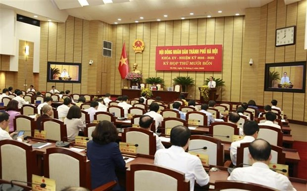 Hà Nội Peoples Council approves resolutions on COVID-19 support and citys investment