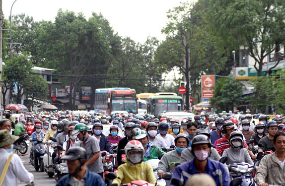 HCM City launches motorbike emission testing programme