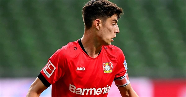 Havertz stars as Leverkusen thump Bremen