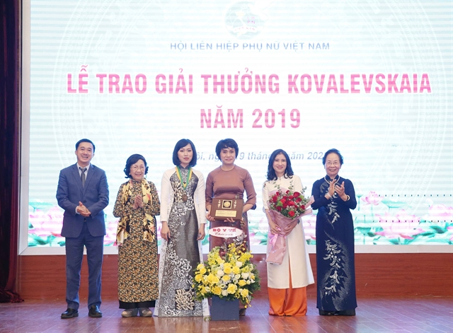 Female scientists receive Kovalevskaia Award 2019