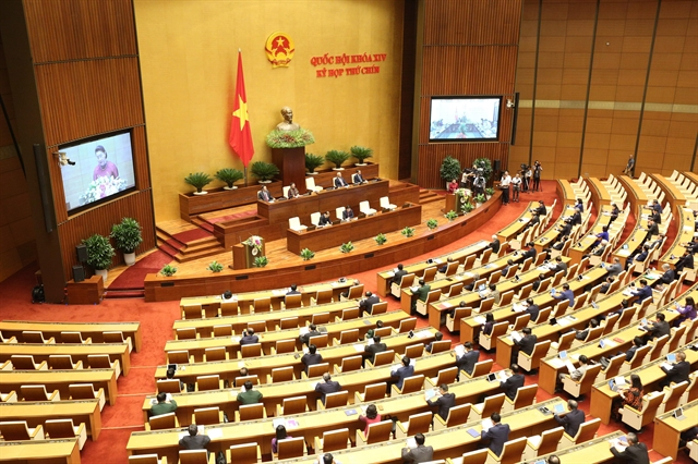 The 14th-tenure National Assembly opened in Hà Nội