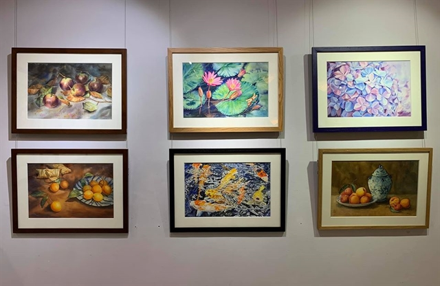 Nine young artists take part in Sunshine exhibition