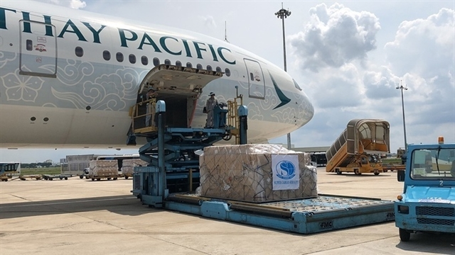 Five million 'made-in-Việt Nam medical protective equipment transported to New York