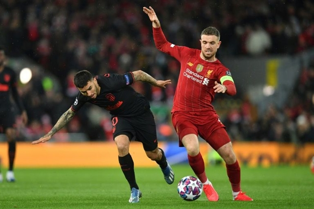Henderson has felt safe since return to Liverpool training