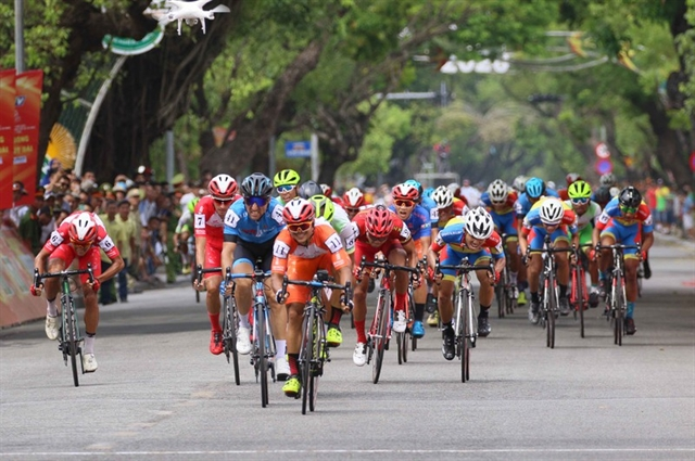 Minh wins after hattrick of troubles at HCM City Cycling Cup