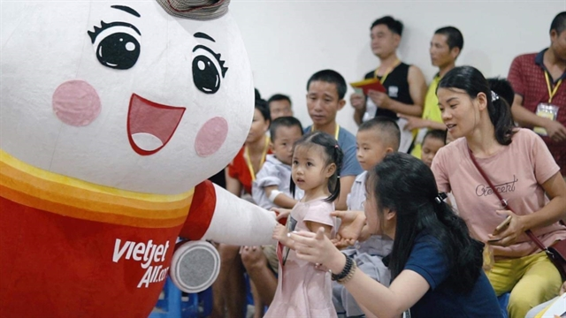 Vietjet sells promotional tickets to celebrate Intl Childrens Day