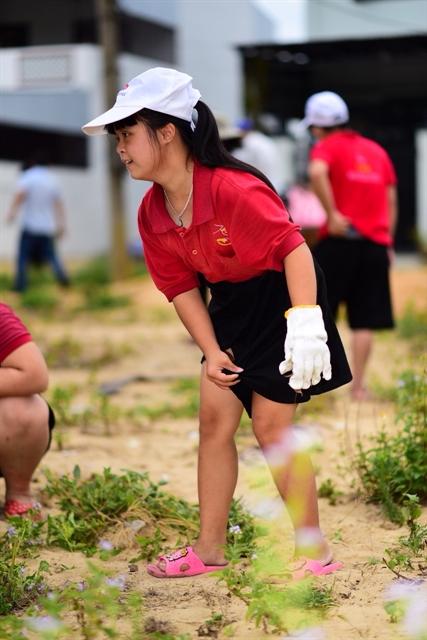 Eco-garden built for children with disabilities