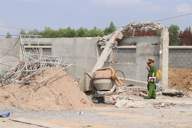 Criminal proceedings launched against director following deadly wall collapse