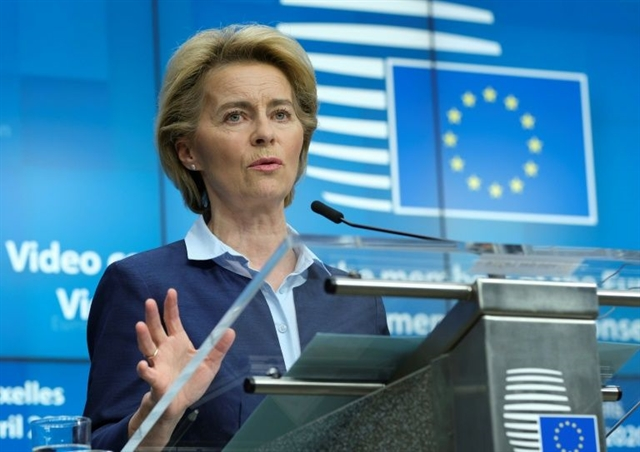 EUs Von der Leyen to unveil trillion-euro recovery plan