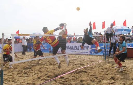 National beach sepak takraw champs to begin in Đà Nẵng