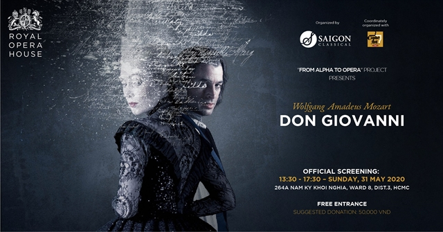 Film screening of opera Don Giovanni to be held