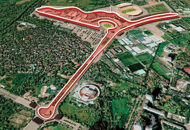 Hà Nộis F1 may be held in November