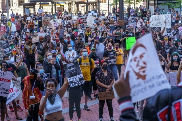 US braces for more protests over police killing of black man
