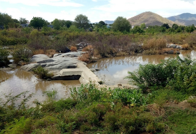 Historic drought in Ninh Thuận