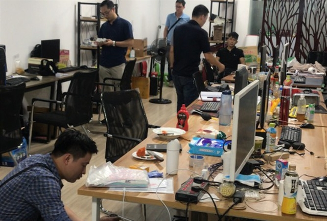 2.7-billion gambling ring busted in Hà Nội