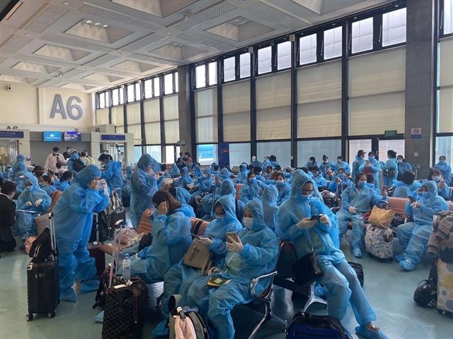 Vietnamese citizens in Taiwan repatriated