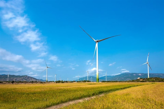 Wind power plant set to operate in Ninh Thuận