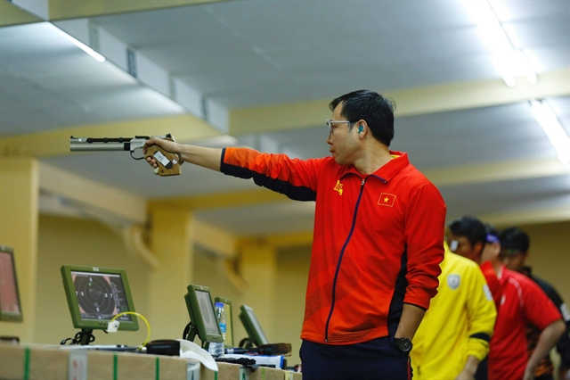 Marksman Vinh to skip SEA Games and aim for Olympics