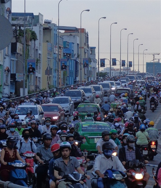 HCM City kicks off major traffic projects to ease congestion