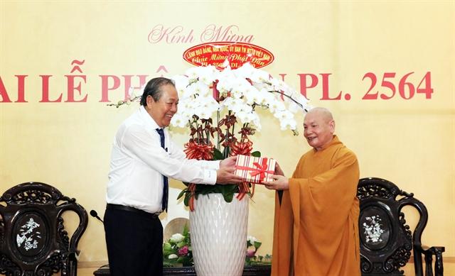 Deputy PM extends greetings to Buddhist followers