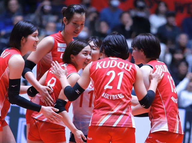 Volleyball star Thúy to stay with Denso Airybee for second year