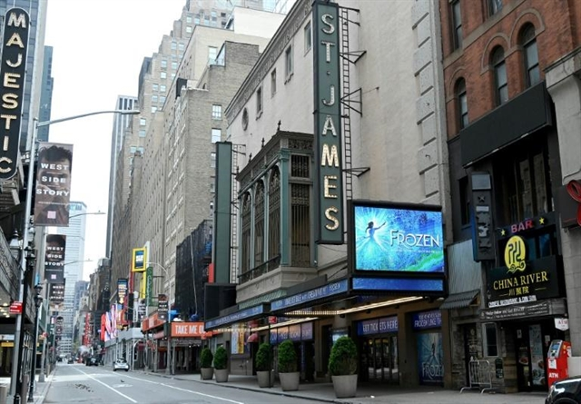 Broadway doors closed and stages empty fears an uncertain future