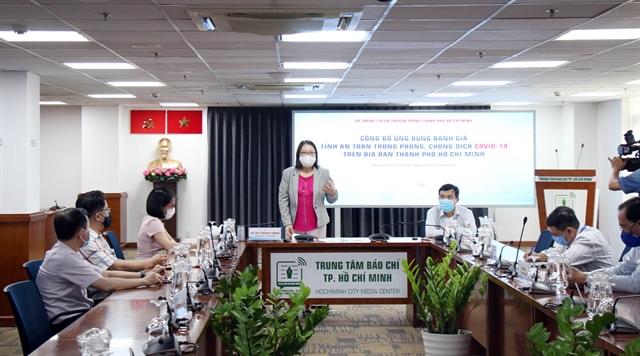 HCM City launches apptoassessCOVID-19 transmission risks