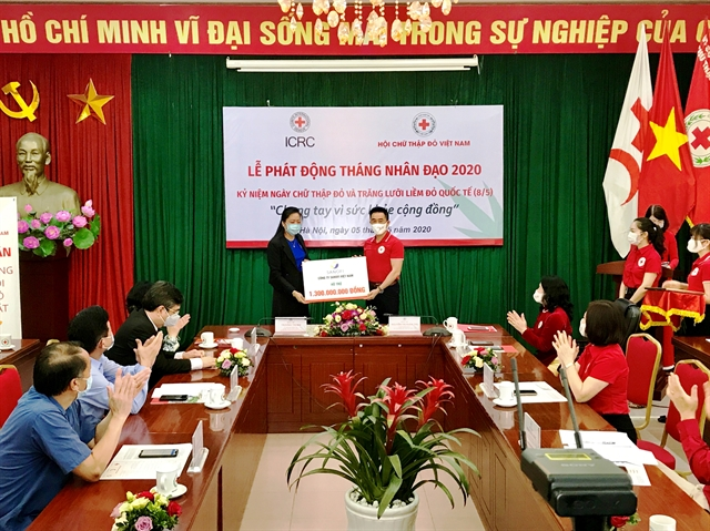 Việt Nam Red Cross Society launches the 2020 Humanitarian Month