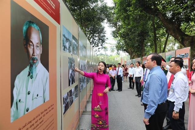 Exhibition sheds light on President Hồ Chí Minhs fight for peace