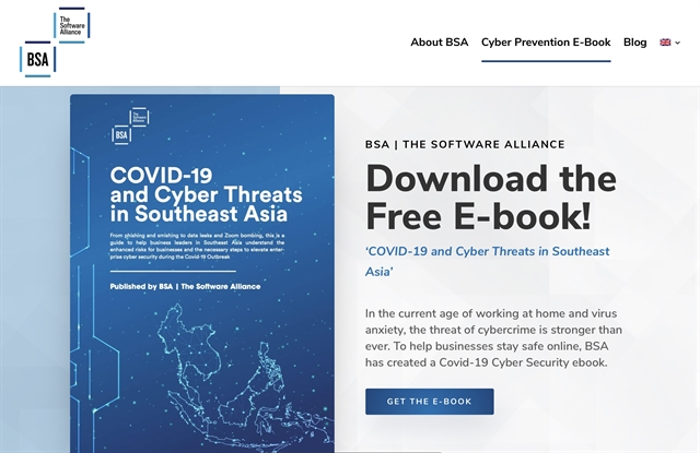 BSA launches e-book as cyberthreats intensify amid pandemic