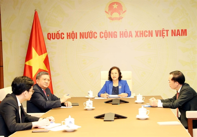 Vietnamese Lao National Assembly leaders hold phone talks