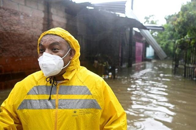 Deadly Tropical Storm Amanda hits El Salvador Guatemala