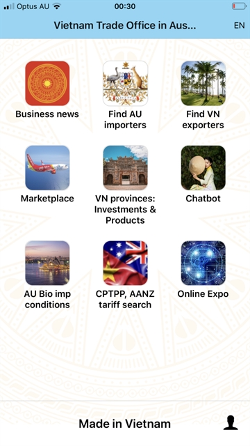 App supporting businesses between Việt Nam and Australia launched