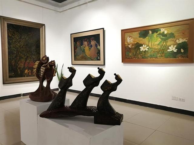 Exhibition showcases lacquer creativity