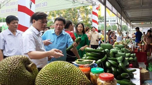 Agricultural products on display in Hà Nội this week