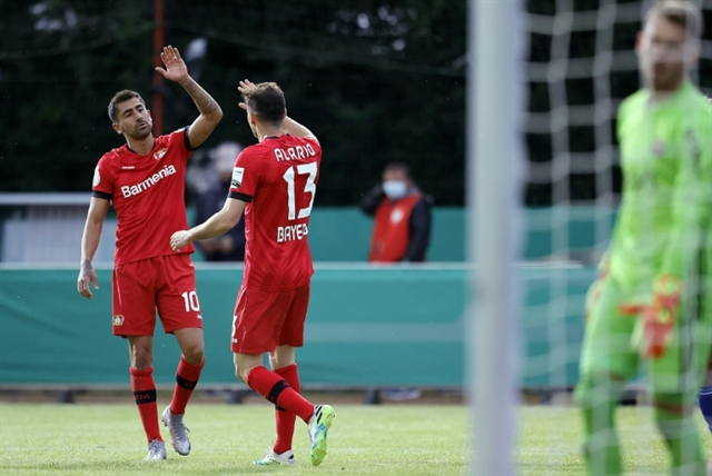 Leverkusen end Saarbrueckens German cup fairytale